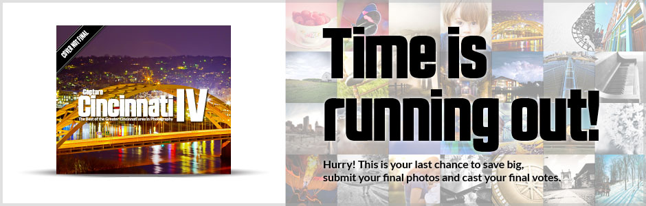 Capture Cincinnati Time Running Out