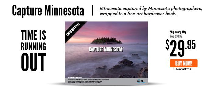Capture Minnesota book