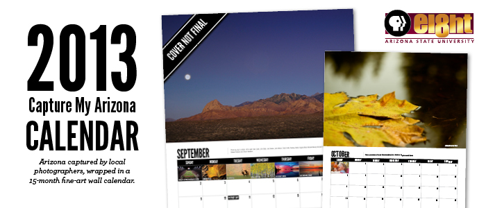 Capture My Arizona 2013 Wall Calendar