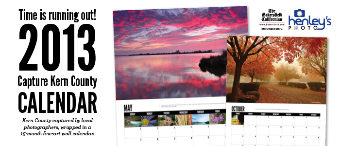 Capture Kern County calendar