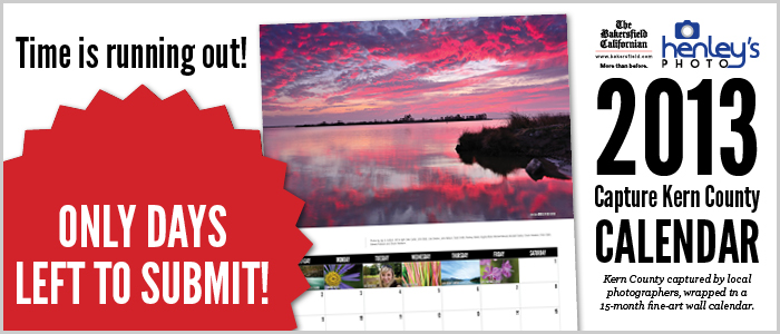 Capture Kern County wall calendar