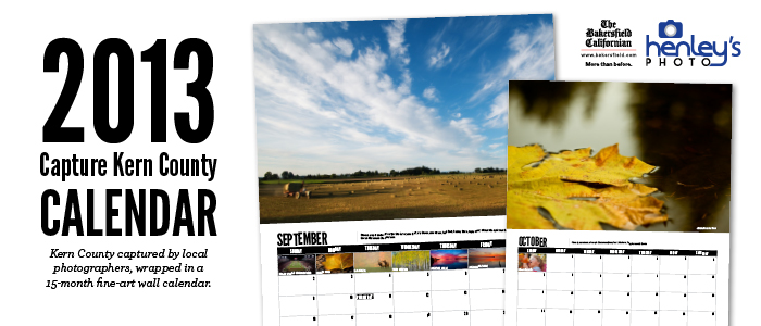 Capture Kern County 2013 Calendar