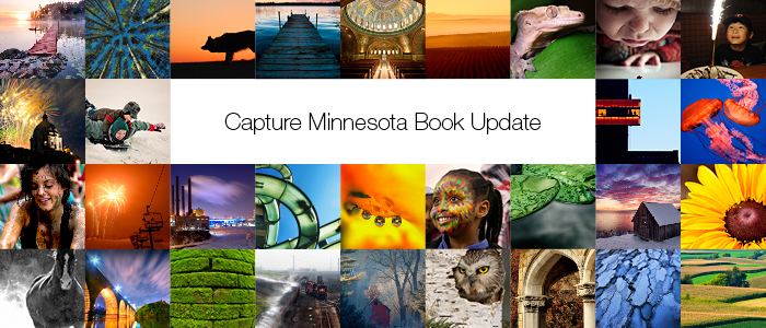 Capture Minnesota Book Update