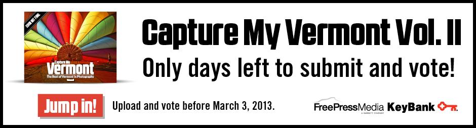 Capture My Vermont Volume II Deadline